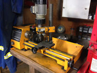 Emco Lathe with Milling head, auto-feed
