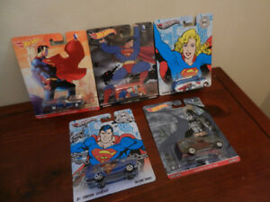Hot Wheels DC Comics Superheroes Car Culture Various Diecast Lot