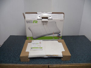 Wii Fit and Game CD