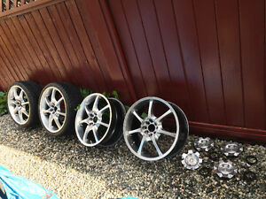 "Sweet 18"" Koenig rims & Hankook rubber for Summer"