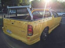 FORD FALCON UTE BF XR6 REGO RWC LOW KMS WHEELS RACKS Herston Brisbane North East Preview