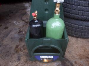 oxy/acetylene bottles