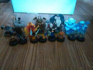 Skylanders Figures first 4 Games