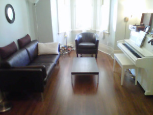 Beautiful 2 story Queen West  sublet for August