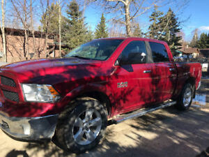 Fully Loaded 2013 Ram Outdoorsman Crew Cab