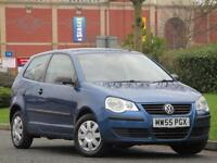 Volkswagen Polo 1.2 Petrol 64PS 2006 3 Door E..1 LADY OWNER + JUST SERVICED