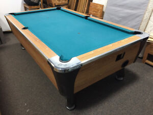 Dynamo 8' Pool Table (Coin Op Option)