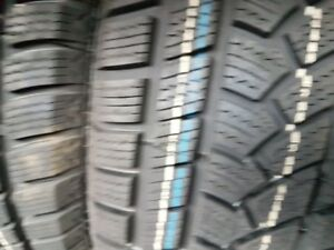 4 X NEW 225-65-R17 WINTER CACHLAND TIRE NEUFS