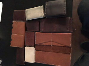 One of a kind wallets and card holders