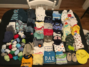 Baby boys clothing: 0-3 month