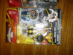 Power Ranger action figures and toys