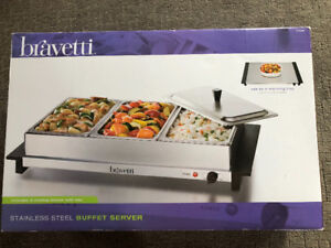Bravetti Stainless Steel Buffet Server