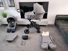 Stokke xplory V6 pram pushchair 😍