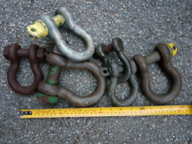 Shackles Various sizes from £4