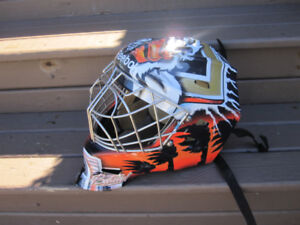 Two Junior/Youth Size Goalie Helmets