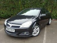 2006 06 VAUXHALL ASTRA 1.8 TWIN TOP DESIGN 3D 140 BHP