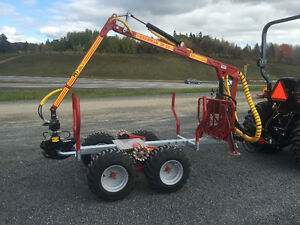 Log loader and Trailers for compact tractors $156.00/M and up St. John's Newfoundland image 13