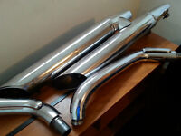 factory exhaust for vulcan classic