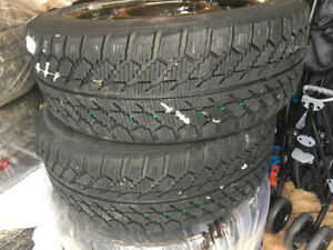 215/50R17 Winter Tires and Rims Package