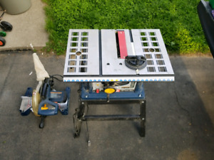 "10"" Miter and 10"" Table Saw for sale"