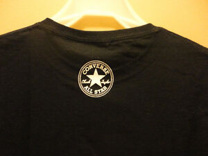 Chuck Taylor black graphics tee t-shirt Size Small  Brand New London Ontario image 5