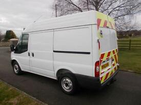 FORD TRANSIT 280 100PS SEMI HIGH VAN 62 REG 67,800 MILES