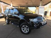 2010 Mitsubishi L200 2.5 DI-D CR Warrior Double Cab Pickup 4WD 4dr (Leather(...)