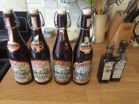Vintage old bottles