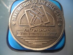 RARE 1994 TORONTO STAR BLUE JAYS HOME SCHEDULE MEDALLION
