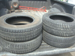 4 TIRES - 195 / 60 R15