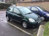 Toyota Yaris T Spirit 2005 low miles immaculate