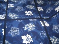 Toronto Maple Leaf's home made quilt