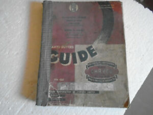 1956 Chryco Parts Buying guide incl Chrysler Plymouth Desoto +++