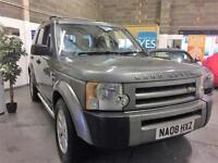 2008 08 LandRover Discovery GS Automatic 7 Seater FSH