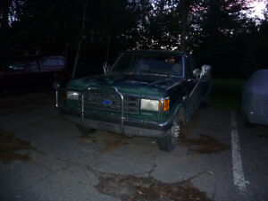 Ford F-350 1990  king cab roues doubles diesei 7.3 litres