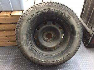 Perfect full size 17 inch winter spare for Dodge Ram