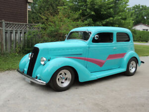 1935 Plymouth sedan street rod.