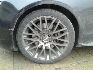 19 Inch Pirelli Winter Tires and Momo Rims - Set of 4 Kingston Kingston Area image 2