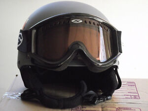 Giro Revolver Stack Vent Helmet and Smith Vented Snow Goggles