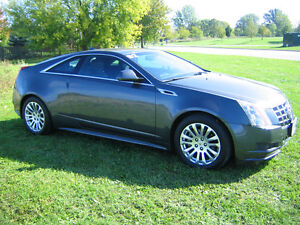 2013 Cadillac CTS Coupe, Low KM's, Super Clean