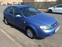 CHEVROLET LACETTI SX MOT May 2015 LOW Miles 53000 miles 2 keys 2 owners ANY TEST Priced right