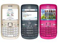 Nokia C3-00 Keypad Bar Phone