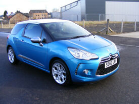 Citroen DS3 HDi 90 DStyle (blue) 2011