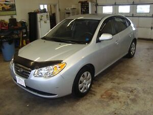 2009 HYUNDAI ELANTRA 4DR SILVER IN COLOR $4695 PLUS THE HST