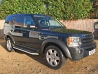 Land Rover Discovery 3 2.7TD V6 auto 2007MY HSE BLUE 7 SEATS