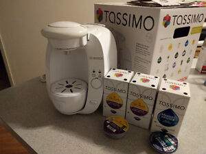 Cafetière Tassimo blanche