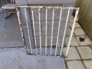 Wrought Iron Gate or Window Security Bar