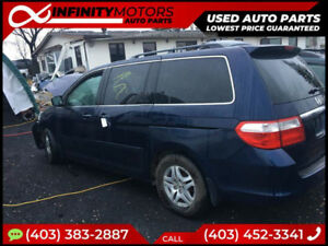 2005 HONDA ODYSSEY FOR PARTS PARTING OUT CARS CAR PARTS