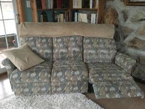 Divan et fauteuil elran