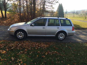 2004 Volkswagen Jetta GL Wagon Mark 4, Silver, No Rust